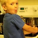 Kids in the Kitchen - Making Rice | SensiblySara.com