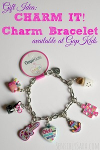 Holiday Gift Guide: CHARM IT! Charm Bracelets for Girls {at GapKids} CLOSED