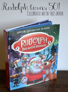 Rudolph the Red-Nosed Reindeer Pop-Up Book {plus #Giveaway} CLOSED