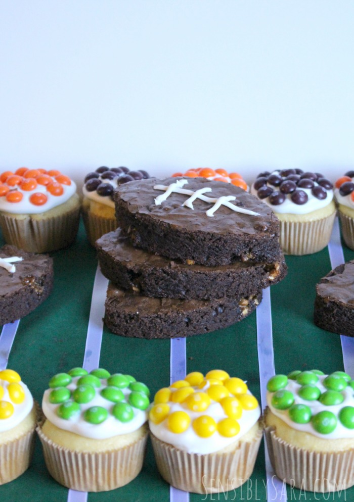 Snacks to eat while watching the big game #shop | SensiblySara.com