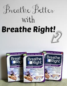 Breathe Right Lavender Nasal Strips {Plus #Giveaway} CLOSED