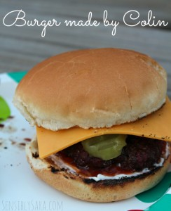 Kids in the Kitchen: Making Burgers