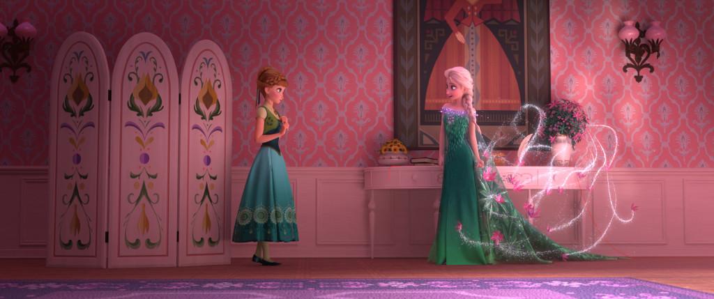 FROZEN FEVER - Anna and Elsa