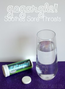 GoGargle! Soothes Sore Throats {Plus Giveaway}