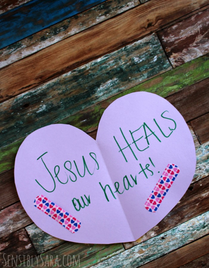 Jesus Heals Craft