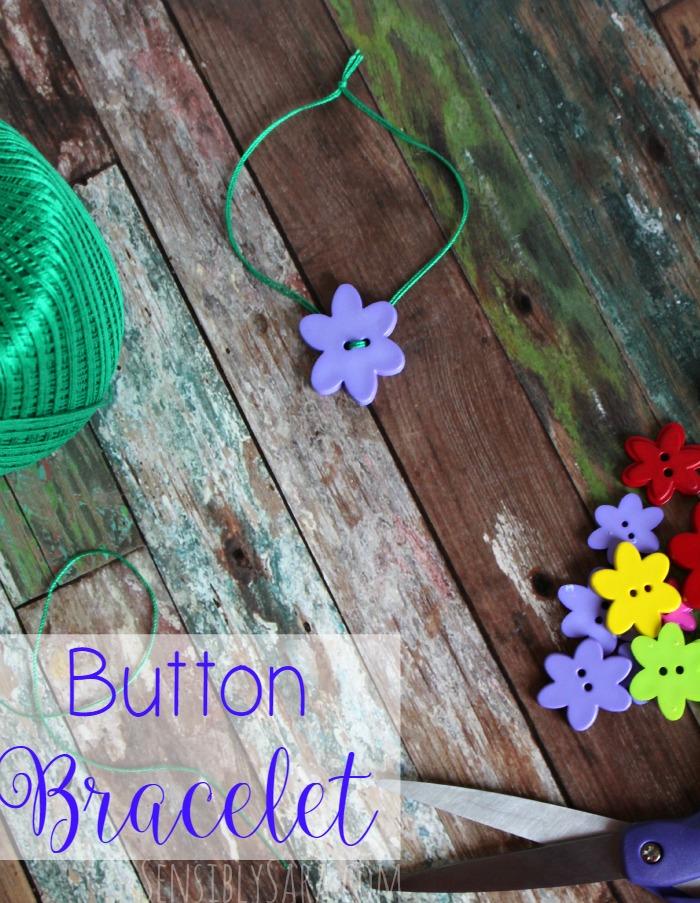 Button Bracelet | SensiblySara.com