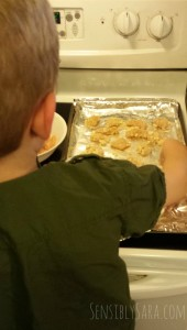 Kids in the Kitchen: Parmesan Ranch Chicken Bites
