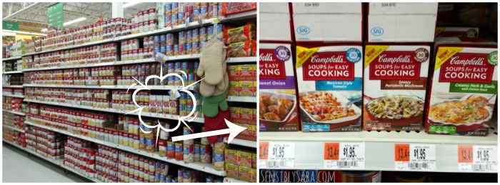 Campbell's Soups for Easy Cooking Collage | SensiblySara.com