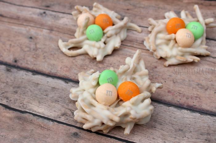 Easter Egg Nests | SensiblySara.com