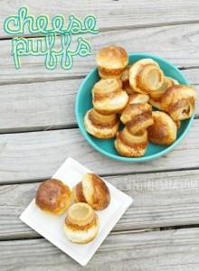 Cheese Puffs Bread {Recipe}