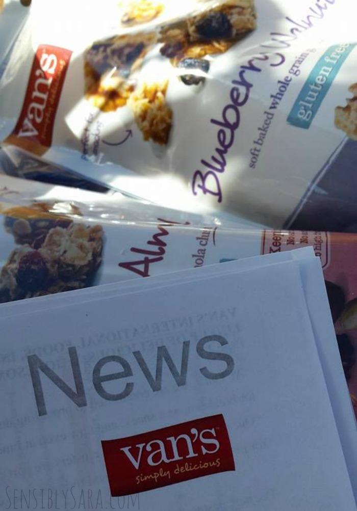 Van's Foods Granola   SensiblySara.com
