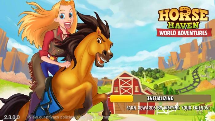 Horse Haven World Adventures Start Page | SensiblySara.com