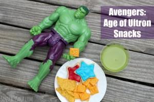 MARVEL's The Avengers: Age of Ultron Snacks #ad #AvengersUnite