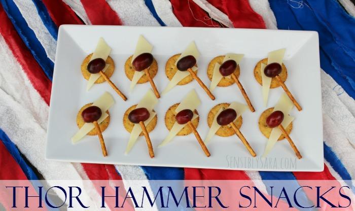 Thor Hammer Snacks | SensiblySara.com