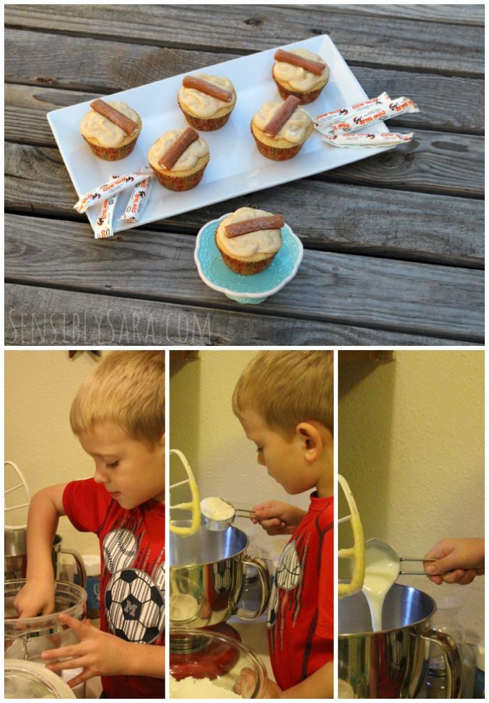 Cow Tales Cupcakes Collage | SensiblySara.com