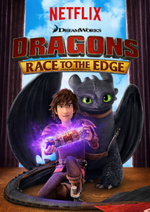 Dragons Race to the Edge on Netflix! #StreamTeam