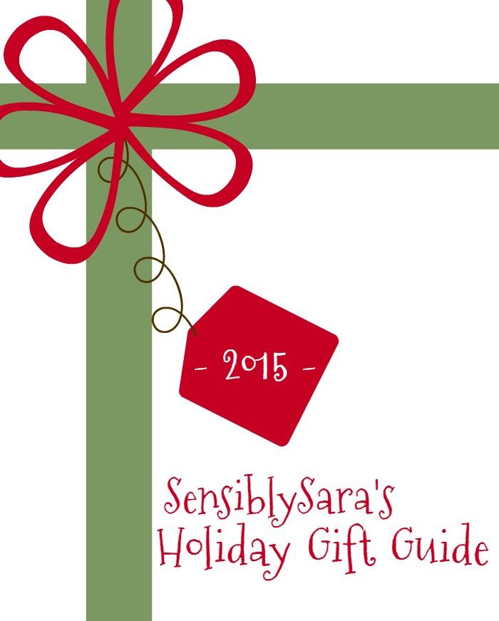 Holiday Gift Guide Image | SensiblySara.com