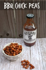 Kids in the Kitchen: Stubb's BBQ Chick Peas