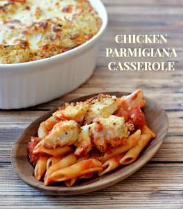 Baked Chicken Parmigiana Casserole Recipe