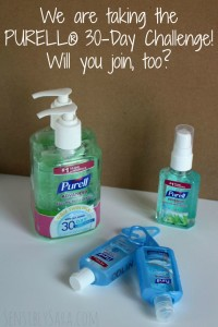 Using PURELL® Advanced Hand Sanitizer to Fight Germs #ad #PURELL30 #PURELLChallenge