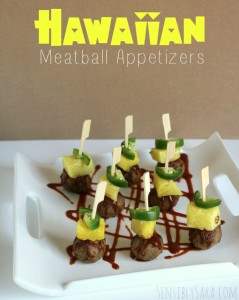 Hawaiian Meatball Appetizers with Farm Rich Snacks #ad #BackYourSnack