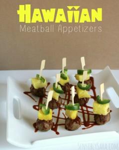 Hawaiian Meatball Appetizers with Farm Rich Snacks #ad #BackYourSnack