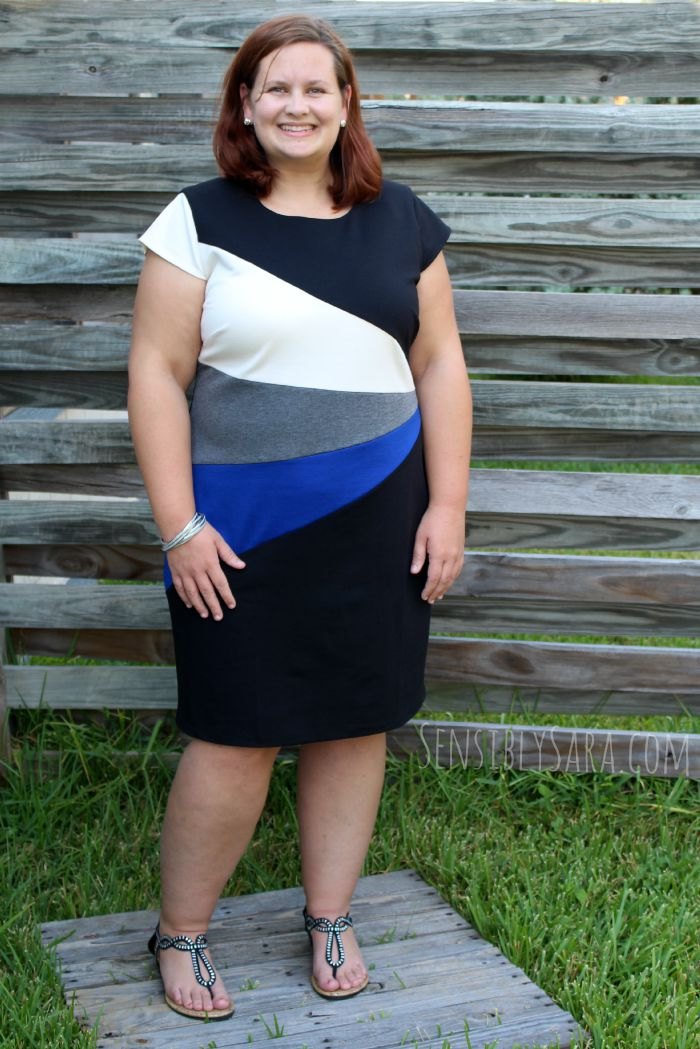 Cobalt Blue Dress | SensiblySara.com