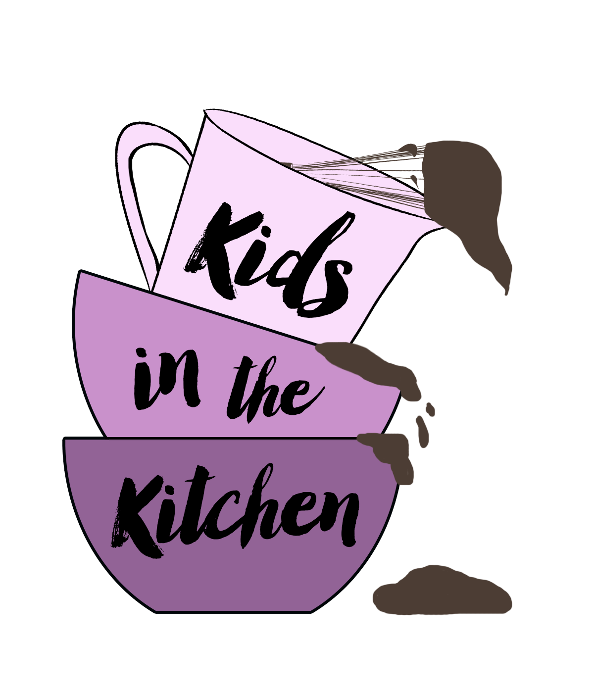 Kids in the Kitchen Clear Logo | SensiblySara.com