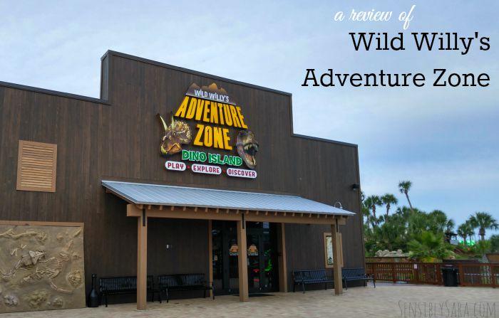 Wild Willy's Adventure Zone #EmeraldCoasting | SensiblySara.com