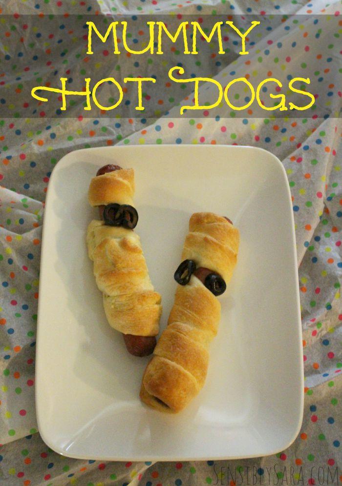 Mummy Dogs Recipe | SensiblySara.com