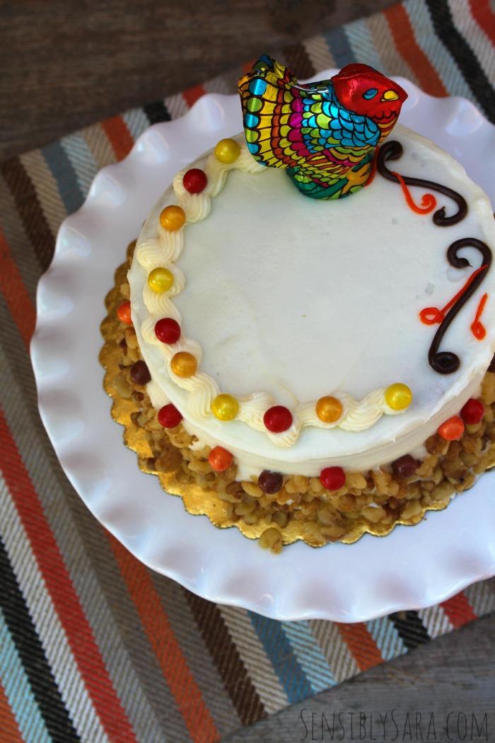 Thanksgiving Cake | SensiblySara.com