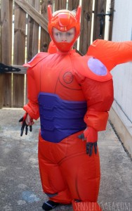 Inflatable Baymax Costume from Costume SuperCenter #Review