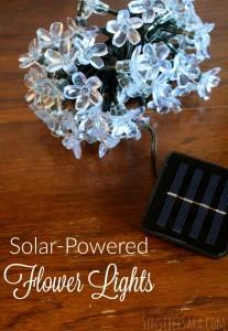 Holiday Gift Guide: Solar Flower Lights