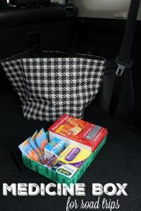 Medicine Box for Road Trips with Pfizer [AD] #HealthySavings