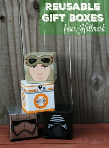 CUBEEZ at #Hallmark Make Great Reusable Gift Boxes! [AD]