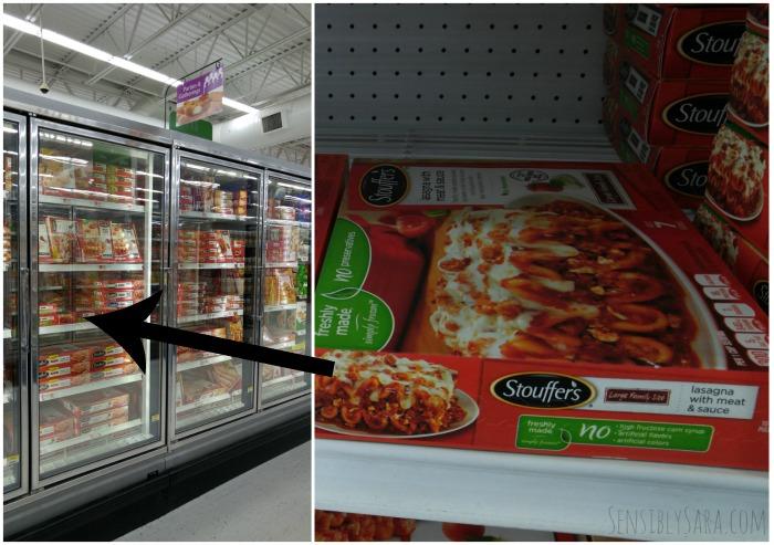 Stouffer's at Walmart | SensiblySara.com