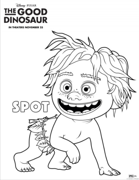 Printables: The Good Dinosaur Activity Sheets (Part 2 ...