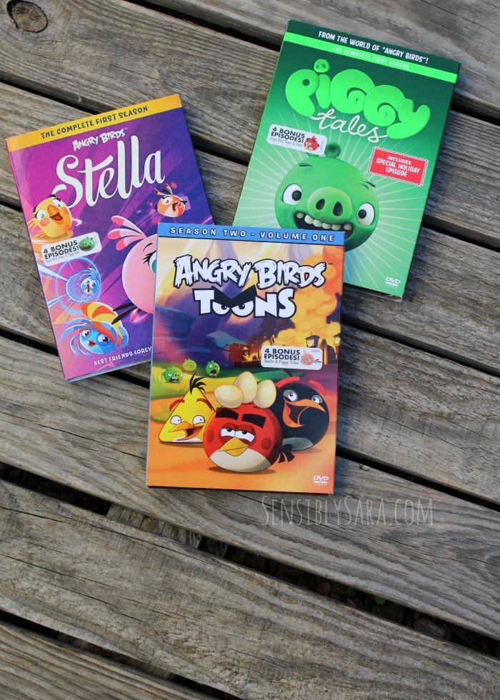 Angry Birds Toons on DVD | SensiblySara.com