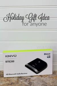 Holiday Gift Guide: Kinivo BTR200 Bluetooth Audio Receiver