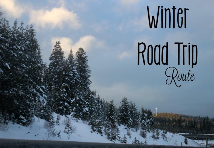 Our Winter Road Trip Route | SensiblySara.com