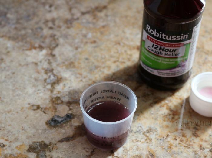 Robitussin Cough Syrup | SensiblySara.com