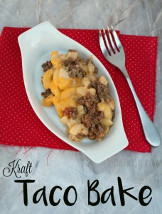 Kraft Taco Bake Recipe #CookingUpHolidays