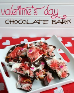 Kids in the Kitchen: Valentine's Day Chocolate Bark Recipe