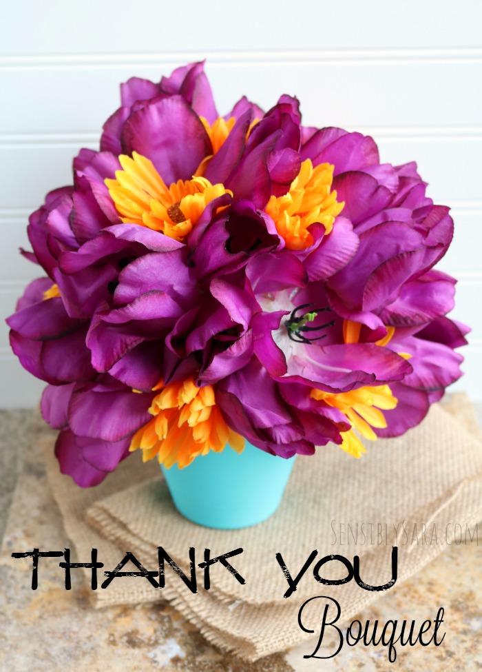 Thank You Bouquet | SensiblySara.com