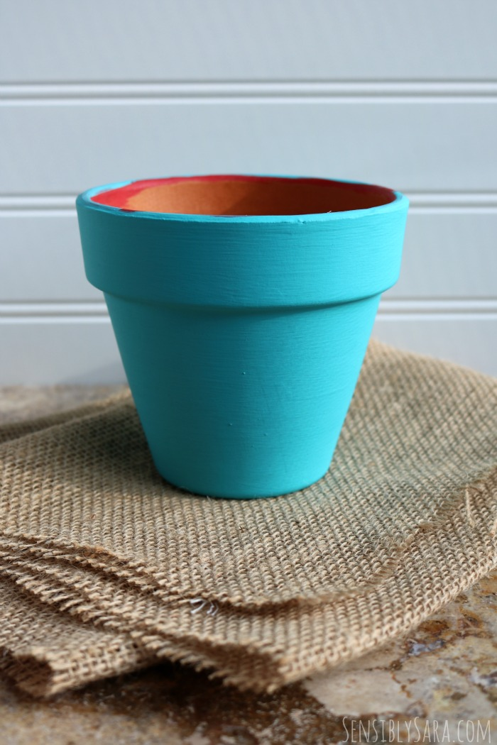 Painted Pot | SensiblySara.com