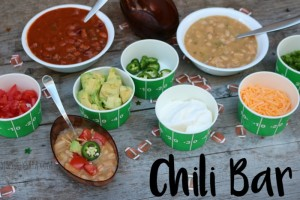 Planning a Progresso Chili Bar for the Big Game! [AD] #ProgressoGameDay