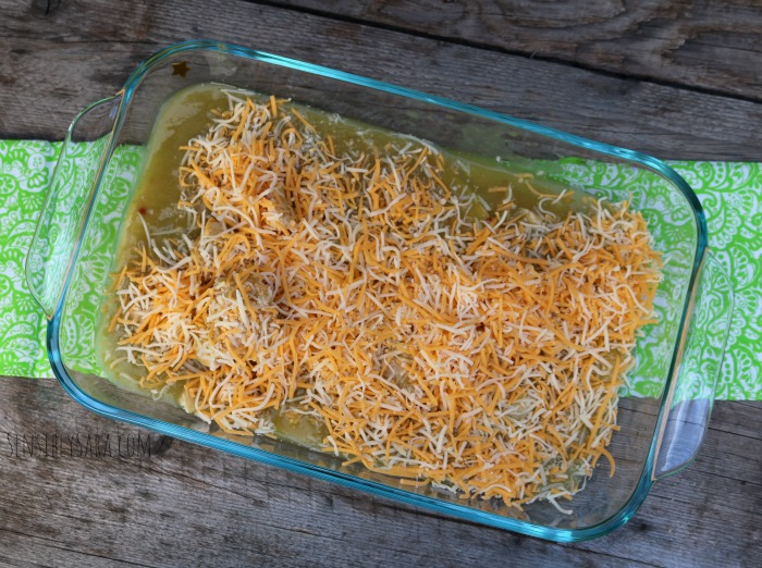 Step 3 - Cheesy Chicken Enchiladas | SensiblySara.com