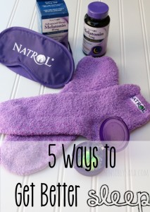 5 Ways to Get Better Sleep [AD] #NatrolMelatonin