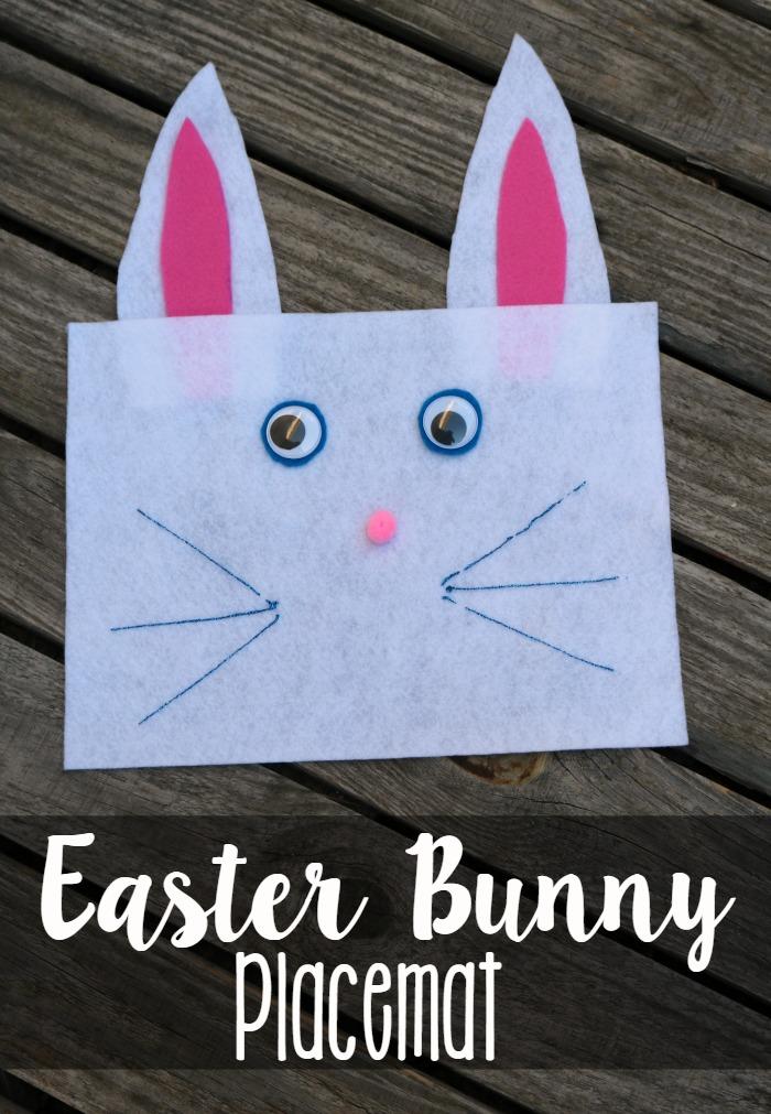 Easter Bunny Placemats | SensiblySara.com