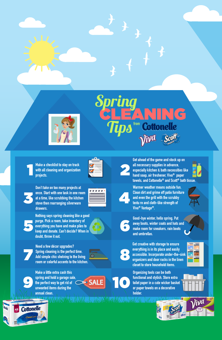 Must Have Items For Your Annual Spring Clean Ad